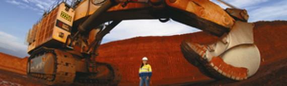 Operadora femenina de excavadora de minería reconocida por sus logros extraordinarios