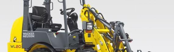Wacker Neuson presenta la cargadora eléctrica sobre ruedas